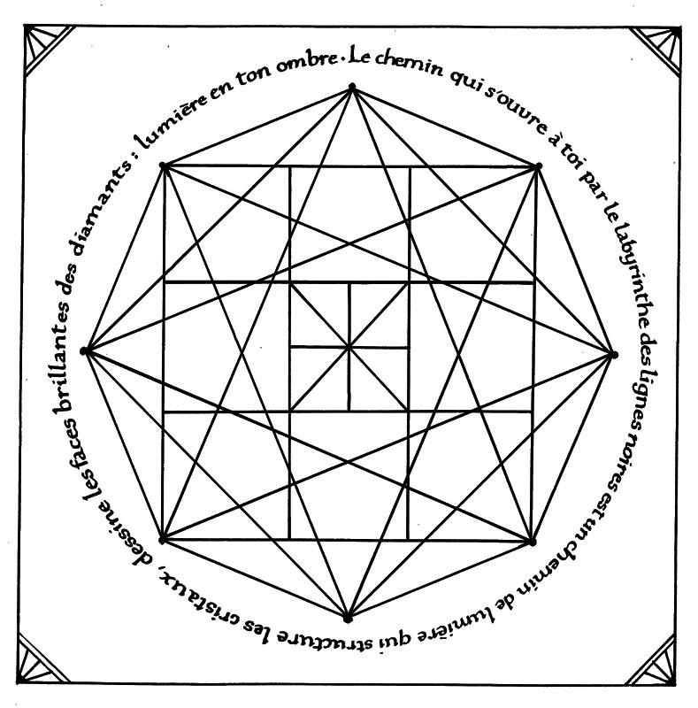 mandala zentangle calligraphie poésie