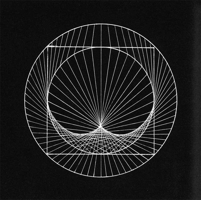 géométrie sacrée calligraphie