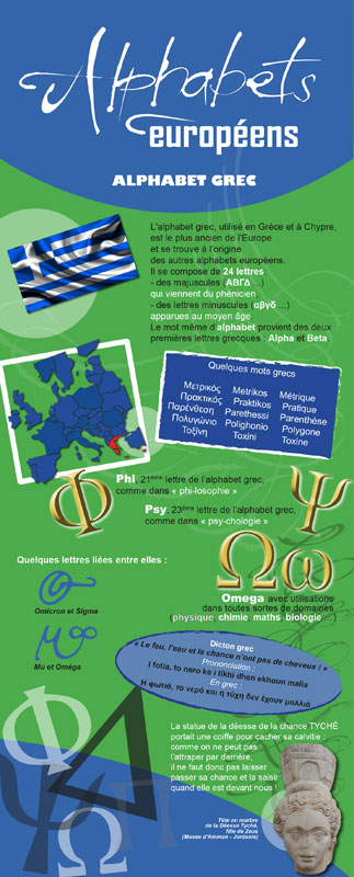 exposition itinérante alphabets européens alphabet-grec