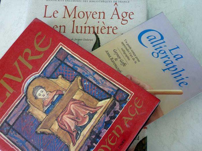 exposition calligraphie enluminure moyen âge