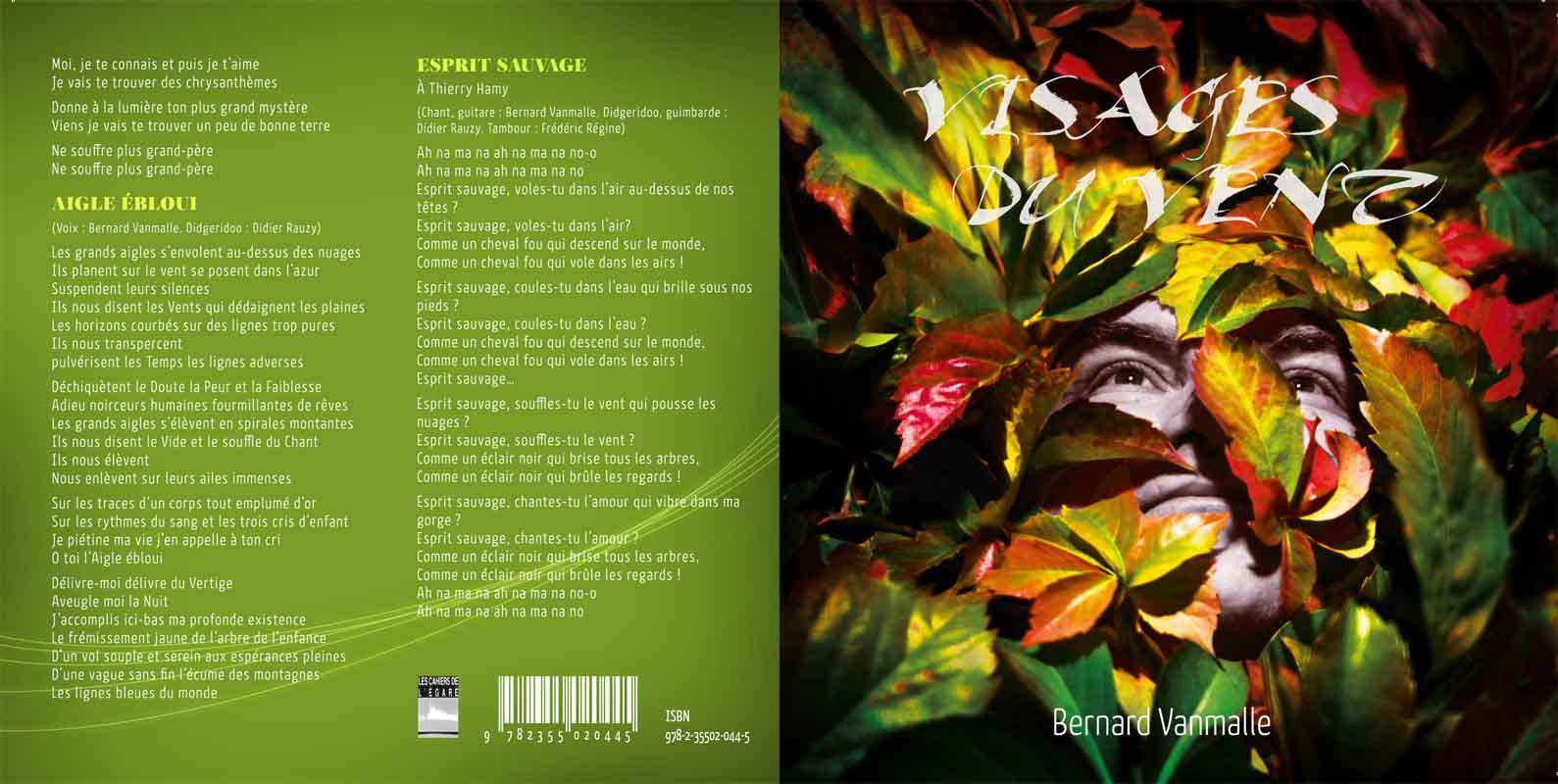 chansons de bernard vanmalle poète