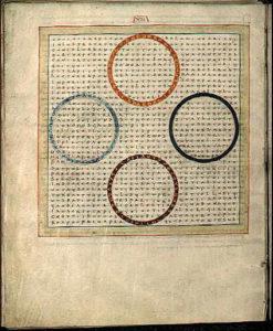 mansucrit Raban Maur calligraphie médiévale