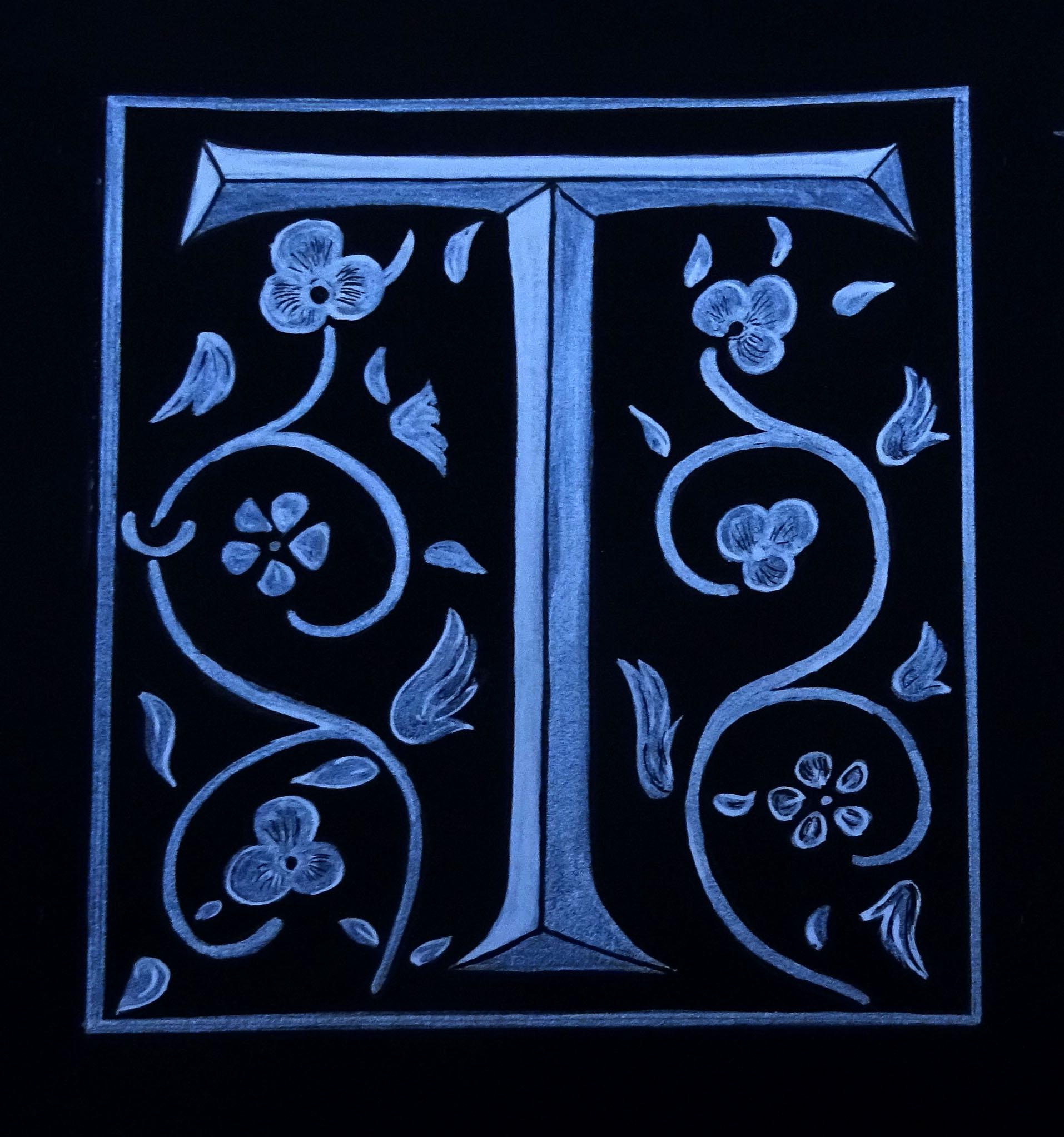 LETTRINE 16ème siècle
